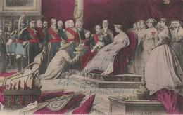 AUDIENCE DES AMBASSADEURS DE SIAM AU PALAIS DE FONTAINEBLEAU PAR NAPOLEON III - Fontainebleau