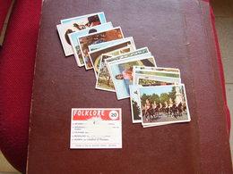 Lot Chromos Images Vignettes Panini *** Folklore *** Année 70 - Albums & Catalogues