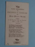 H. Communie Van Jean-Pierre ROOMS Te Baasrode Den 22 Mei 1944 ( Ziee / Voir Foto's ) ! - Communion