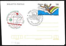 Italia/Italy/Italie: FDC, Intero, Stationery, Entier, Campionato Mondialedi Sci Nautico, World Water Ski Championship, C - Sci Nautico
