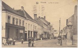 Vilvorde - La Rue De Louvain - Geanimeerd - Uitg. Ern. Thill, Brussel Serie Vilvoorde Nr 15 - Kaart Uit Een Boekje - Vilvoorde
