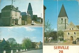 ( SERVILLE )( 28 EURE ET LOIR ) - Francia