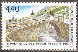 France - 1995 - Le Pont De Nyons - YT 2956 Neuf Sans Charnière - MNH - France