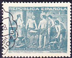 Spanien Spain Espagne - Beneficencia (Edifil: 29) 1938 - Gest Used Obl - Wohlfahrtsmarken