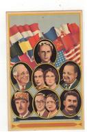 Bevrijders Met Koning Léopold,De Gaulle,Churchill,Stalin... - Guerra 1939-45