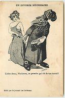 Anticlérical - Un Divorce Nécessaire - Lâche Donc, Marianne, Ce Parasite Qui Vit De Ton Travail- édit Les Corbeaux - Satirisch