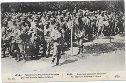 GUERRE 14/18 - Prisonniers Autrichiens Escortés Par Des Soldats Serbes à NITCH - Guerra 1914-18