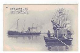 A-2 Red Star Line  Antwerpen-New York  Boston-Philadelphia  H.Cassiers - Steamers