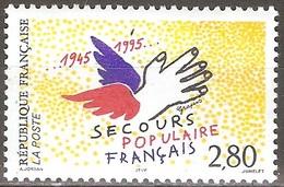France - 1995 - Secours Populaire Français - YT 2947 Neuf Sans Charnière - MNH - France