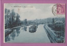 RIBECOURT         Vue Sur Le Canal -  Péniche    60 - Ribecourt Dreslincourt