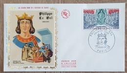 FDC 1968 - YT N°1577 - PHILIPPE LE BEL - PARIS - FDC
