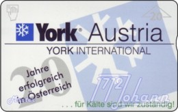 """TWK Österreich Privat: """"York Austria, 20 Jahre"""" Gebr. - Oesterreich"""