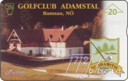 """TWK Österreich Privat: """"Golfclub Adamstal"""" Gebr. - Oesterreich"""