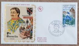 FDC 1968 - YT N°1578 - DU GUESCLIN - CHATEAUNEUF DE RANDON - FDC