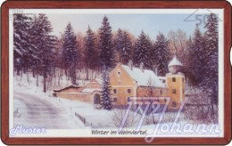 """TWK Österreich Privat: """"Pollak - Winter Im Weinviertel - 50E"""" Gebr. - Oesterreich"""