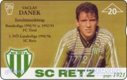 """TWK Österreich Privat: """"SC Retz - Vaclav Danek"""" Gebr. - Austria"""