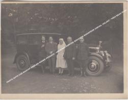 PHOTO AUTO CAR MASCOT EMBLEM RISING PEGASUS / ANCIENNE VOITURE BOUCHON RADIATEUR CHEVAL VOLANT / TRES BEAU PLAN - Toerisme