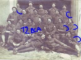 Armée Française Chasseurs Alpins  12 ° BCA CHASSEURS ALPINS - Guerre, Militaire