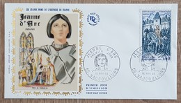 FDC 1968 - YT N°1579 - JEANNE D'ARC - VAUCOULEURS - FDC