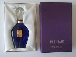 Miniature Parfum Bourjois Soir De Paris Dans Boîte Coffret Bien Décoré - Miniatures Anciennes (jusque 1960)