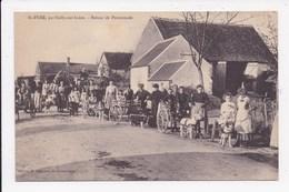 CP 45 ST PERE Par Sully Sur Loire Retour De Promenades      ( Voitures à Chiens) - Autres Communes