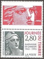 France - 1995 - Journée Du Timbre – Marianne De Gandon - YT 2934 Neuf Sans Charnière - MNH - France