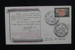 ALGÉRIE - Enveloppe FDC En 1963 - Constitution Algérienne - L 49759 - Algerije (1962-...)