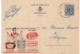Publibel - 1056 - DIAMANT ROYAL - GLYCERINE - LINGE - MOMIGNIES - SELOIGNES - 1952. - Publibels