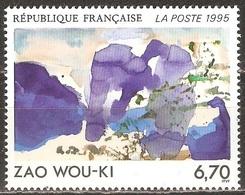 France - 1995 - Zao Wou-Ki - YT 2928 Neuf Sans Charnière - MNH - France