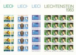 Zumstein 763-766 / Michel 824-827 Bogen-Serie Einwandfrei Postfrisch/** - Blocks & Kleinbögen