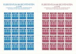 Zumstein 776-777 / Michel 836-838 Bogen-Serie Einwandfrei Postfrisch/** - Blocks & Kleinbögen