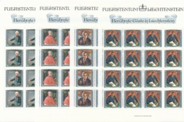 Zumstein 778-781 / Michel 839-842 Bogen-Serie Einwandfrei Postfrisch/** - Blocks & Kleinbögen