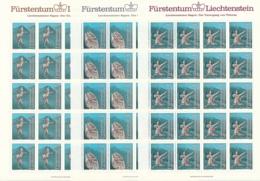 Zumstein 782-784 / Michel 843-845 Bogen-Serie Einwandfrei Postfrisch/** - Blocks & Kleinbögen