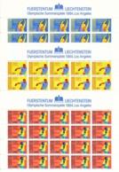 Zumstein 785-787 / Michel 846-848 Bogen-Serie Einwandfrei Postfrisch/** - Blocks & Kleinbögen