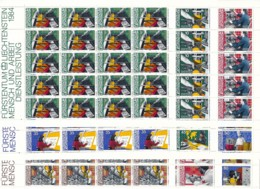 Zumstein 788-799 / Michel 849-860 Bogen-Serie Einwandfrei Postfrisch/** - Blocks & Kleinbögen