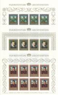 Zumstein 821-823 / Michel 881-883 Bogen-Serie Einwandfrei Postfrisch/** - Blocks & Kleinbögen
