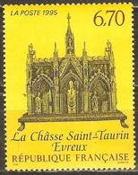 France - 1995 - La Châsse De Saint Taurin à Évreux - YT 2926 Neuf Sans Charnière - MNH - France
