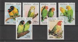 Laos 1997 Oiseaux 1257-62 6 Val ** MNH - Laos