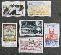 FRANCE - 1994 - YT 2889 à 2894 ** - SITES ET MONUMENTS - Frankreich