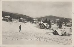 AK Harrachsdorf Harrachov Winter Ski Skifahrer A Neuwelt Novy Svet Seifenbach Jakobsthal Strickerhäuser Riesengebirge - Sudeten