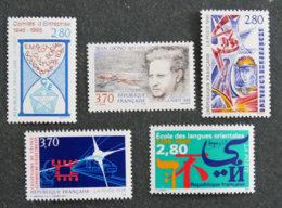 FRANCE - 1995 - YT 2936 à 2940 **-commemoratifs - Frankreich