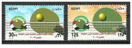 Egypt - 2003 - ( Intl. Table Tennis Championships ) - MNH (**) - Table Tennis