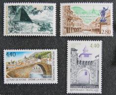 FRANCE - 1995 - YT 2954 à 2957 ** - SERIE TOURISTIQUE - Frankreich