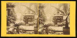 Stereoview - Crystal Palace, Interior, LONDON - Visionneuses Stéréoscopiques
