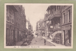 BERCK PLAGE   RUE DE LA MER - Berck