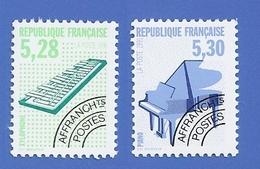 FRANCE PRÉO 221 + 222 NEUFS ** INSTRUMENT DE MUSIQUE - 1989-....