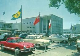 """6306 """"TORINO-PALAZZO ESPOSIZIONI AL VALENTINO""""ANIMATA-AUTO'60-PULMAN - CART. POST. ORIG. NON SPEDITA - Exhibitions"""