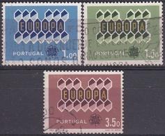 PORTUGAL 1962 Nº 908/10 USADO - Used Stamps