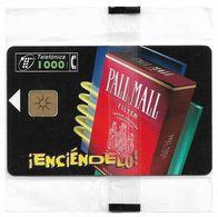 Spain - Telefónica - IEnciéndelo! Pall Mall Tobacco - P-321 - 03.1998, 10.000ex, NSB - España