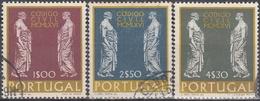 PORTUGAL 1967 Nº 1014/16 USADO - Used Stamps